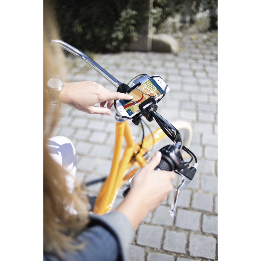 awx High-Res Appliance - Hama, Universal Smartphone Bike Holder for devices with a width between 5 to 9 cm
