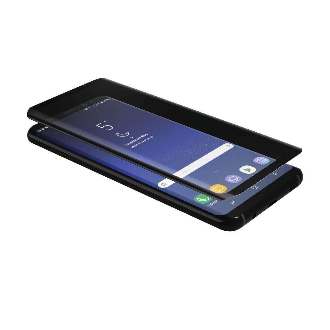 00178986 Hama 3d Full Screen Schutzglas Fur Samsung Galaxy S9