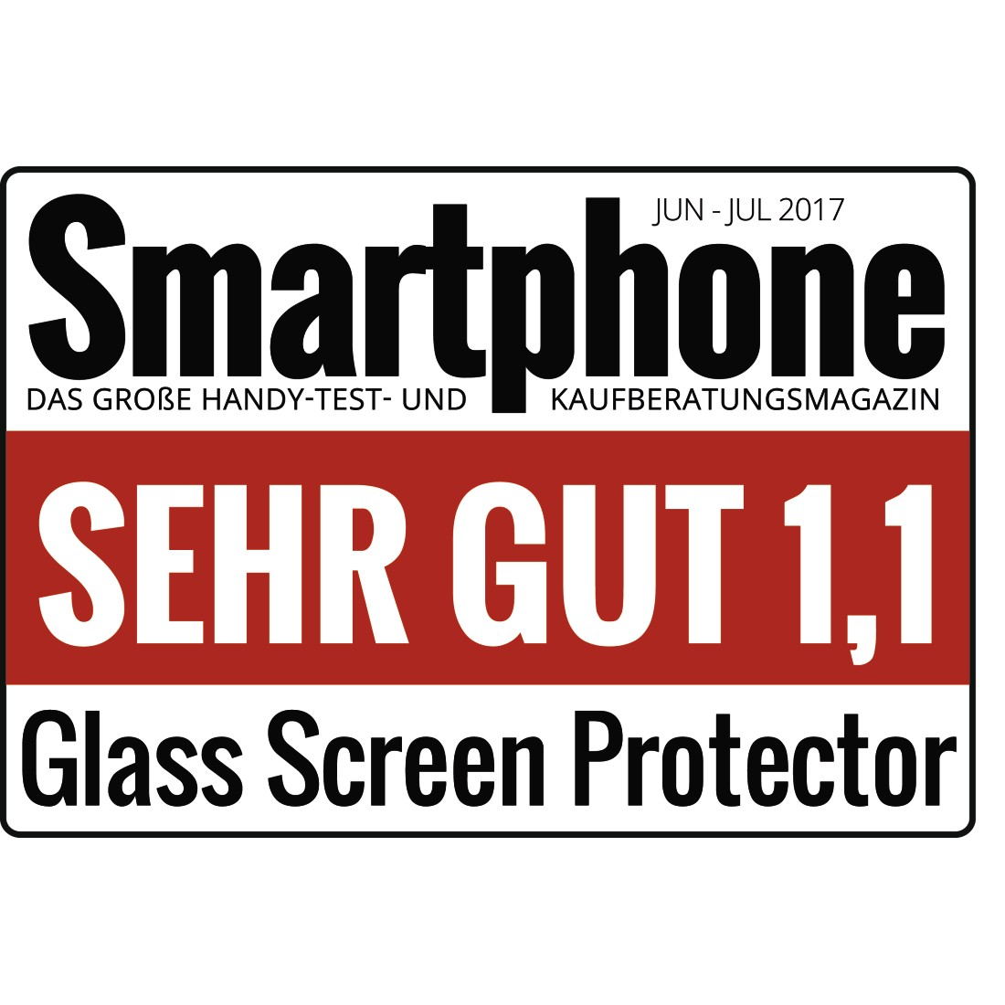 "tex Druckfähiges Testurteil - Hama, Echtglas-Displayschutz ""Premium Crystal Glass"" für Apple iPhone X/Xs"