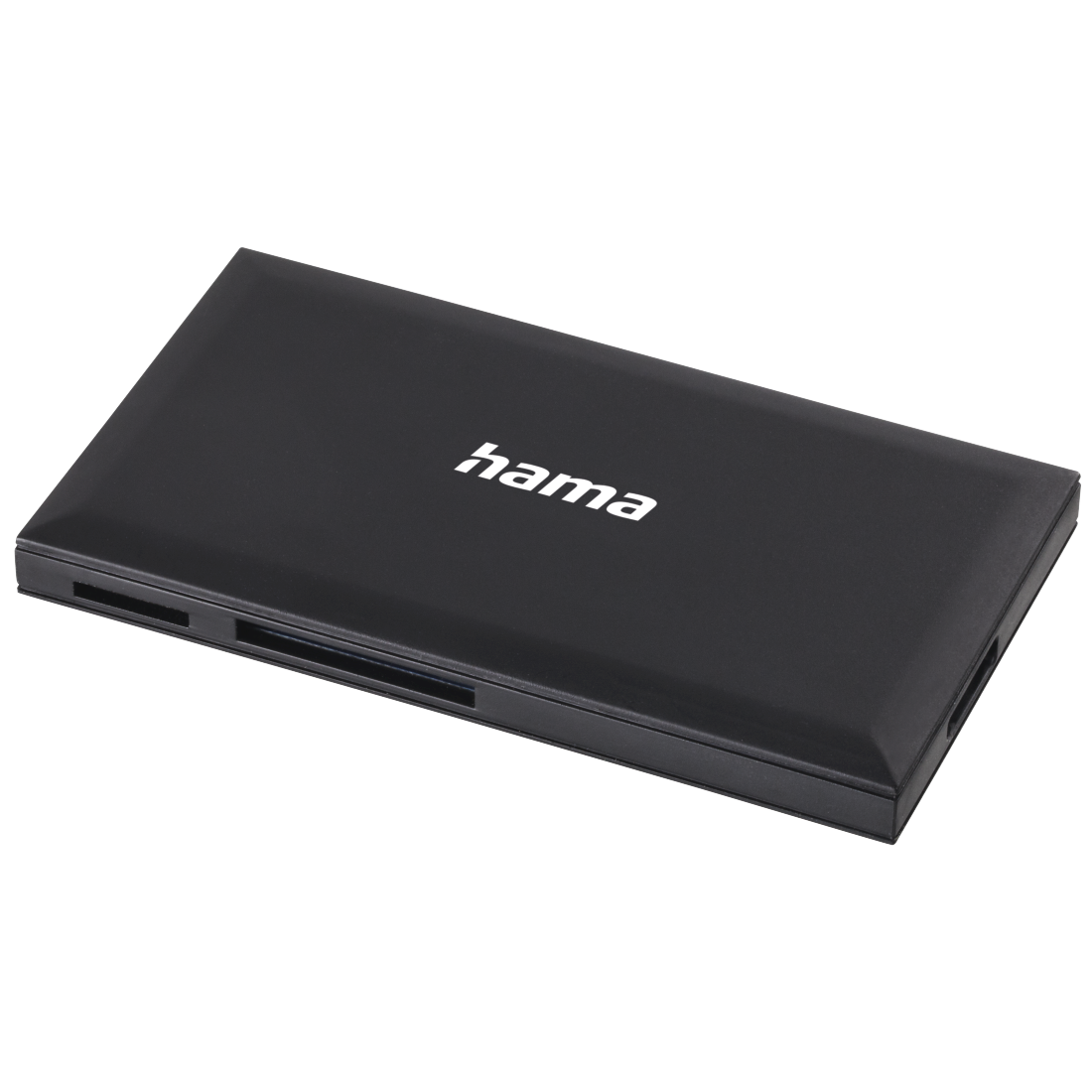 abx High-Res Image - Hama, USB 3.0 Multi-Card Reader, SD/microSD/CF/MS, black