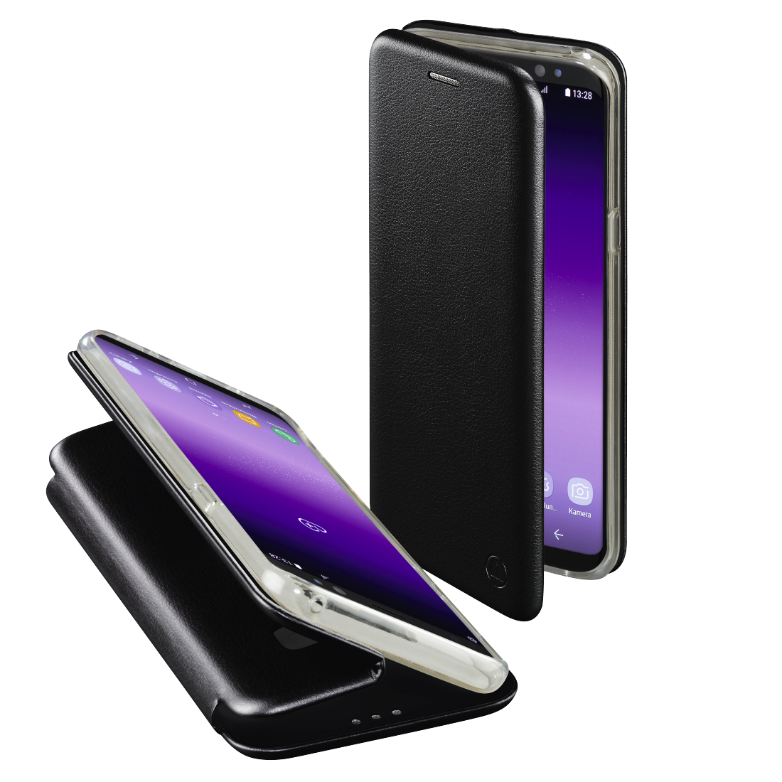 "abx High-Res Image - Hama, ""Curve"" Booklet for Samsung Galaxy S8, black"