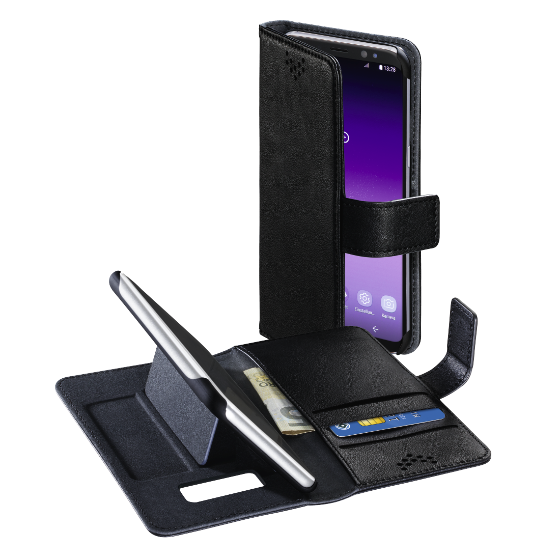 "abx High-Res Image - Hama, ""Stand-Up"" booklet for Samsung Galaxy S8, black"