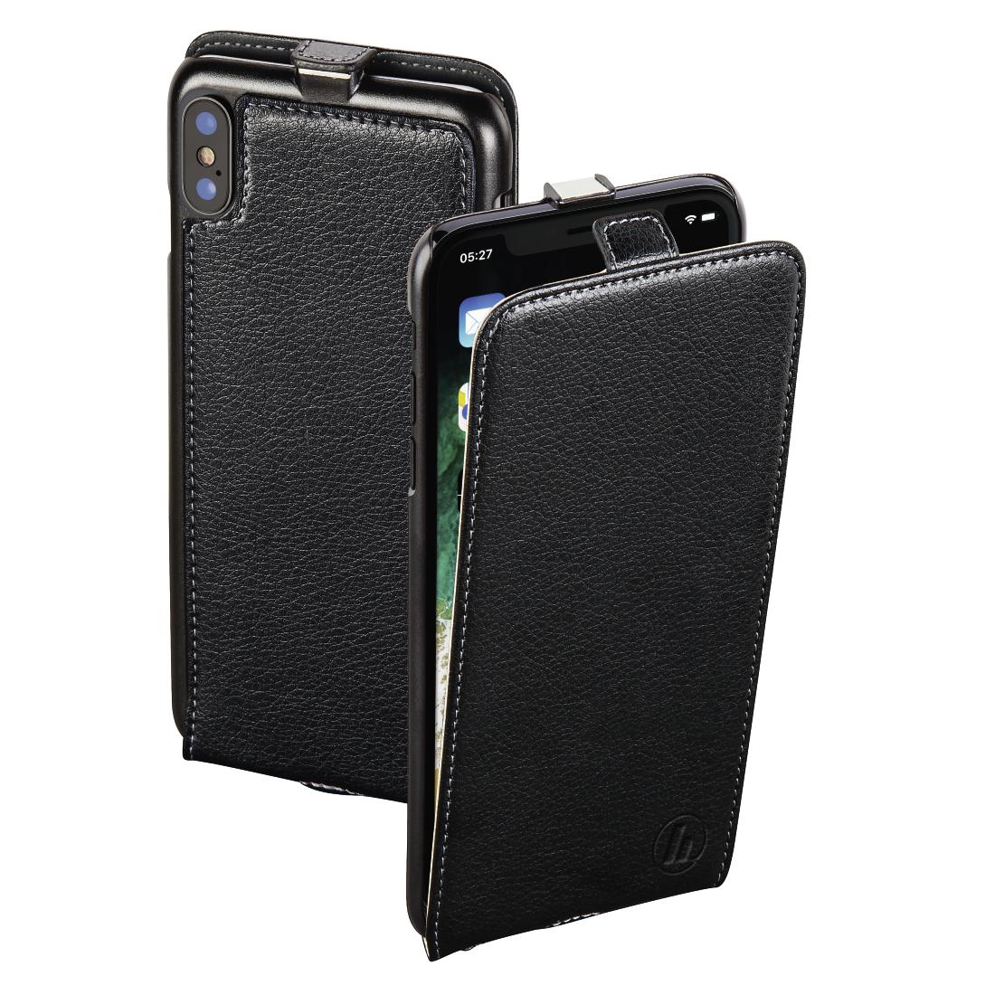 00181385 hama flap tasche smart case f r apple iphone x. Black Bedroom Furniture Sets. Home Design Ideas