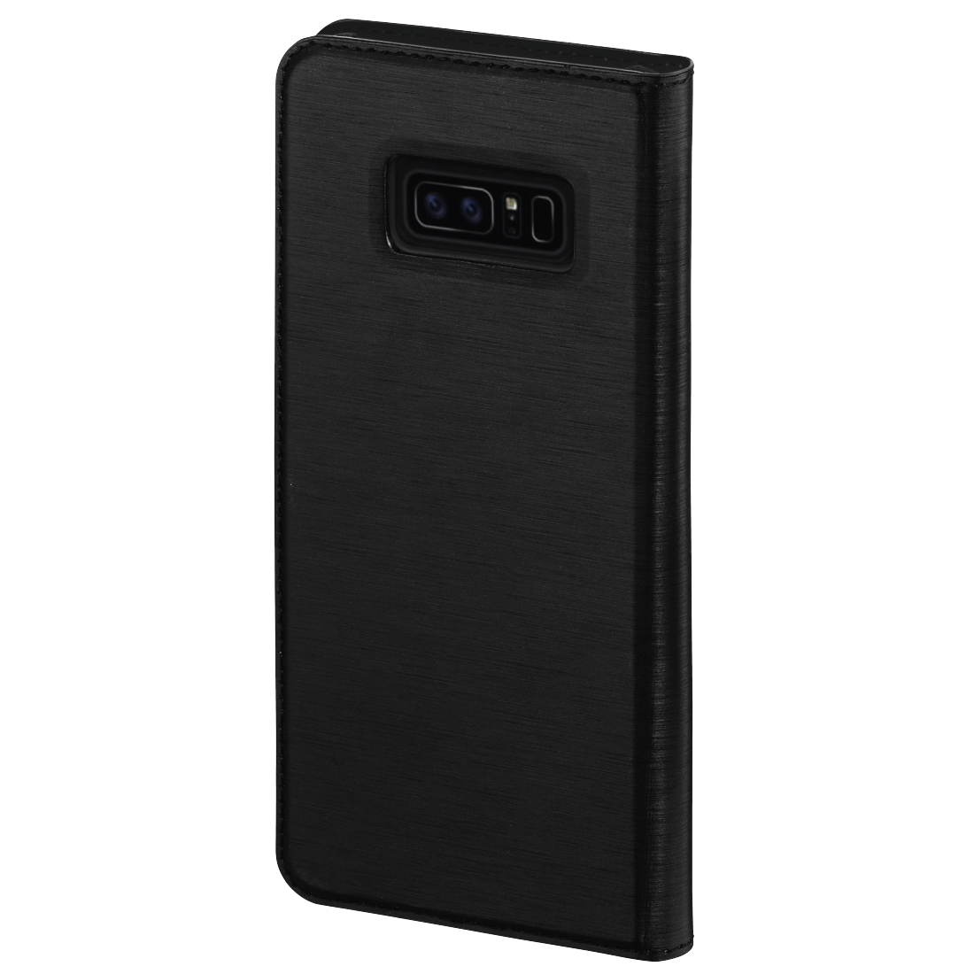 "abx2 High-Res Image 2 - Hama, ""Slim"" booklet for the Samsung Galaxy Note 8, black"