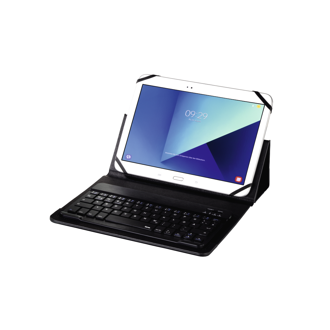 "abx6 High-Res Image 6 - Hama, Bluetooth® Keyboard with ""KEY4ALL X3100"" Tablet Bag"