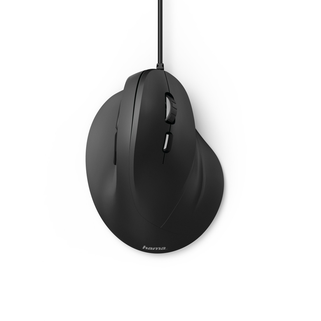 "abx2 High-Res Image 2 - Hama, Vertical, Ergonomic ""EMC-500"" Mouse, Cabled, 6 Buttons, black"