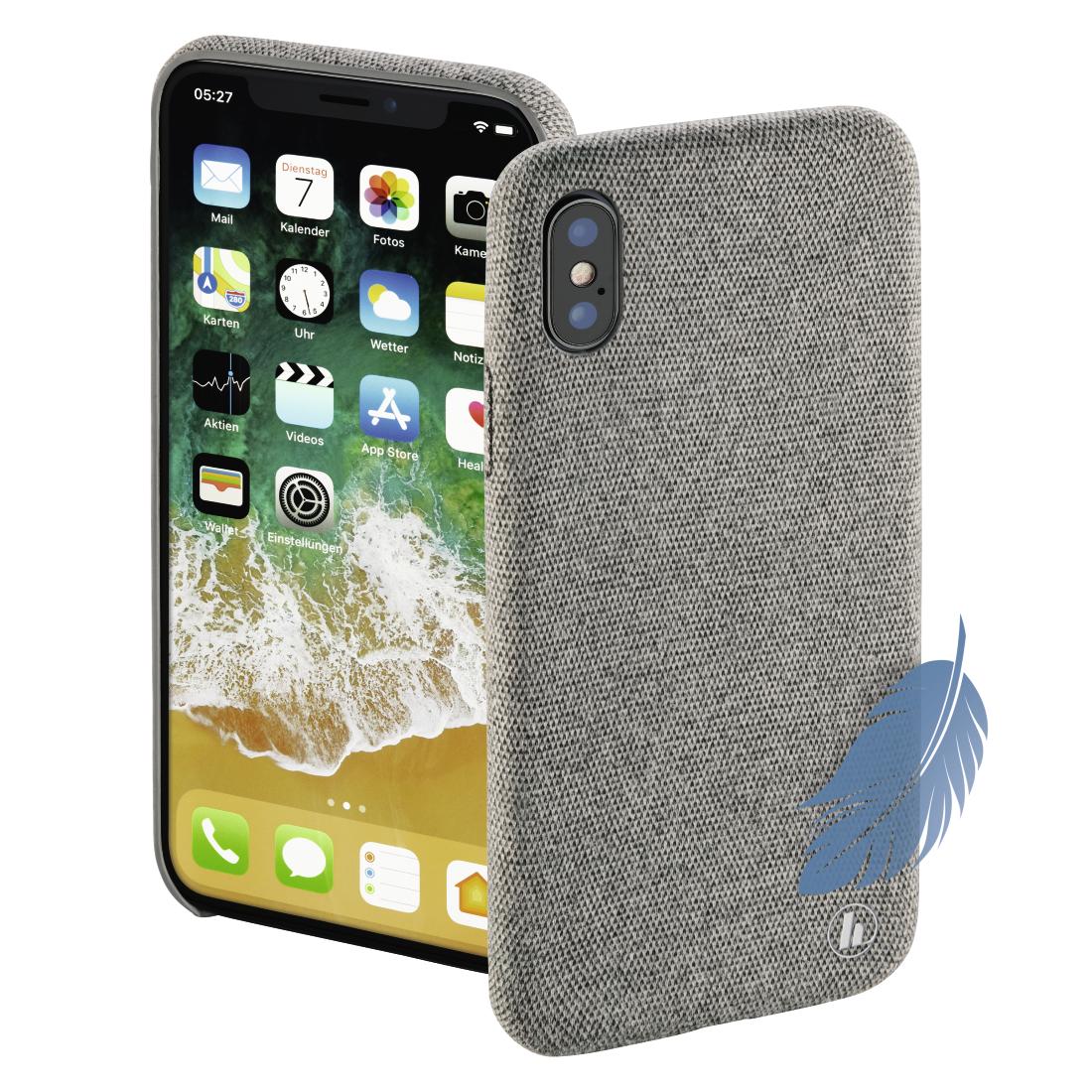 00182755 Hama Cover Cozy Fur Apple Iphone X Hellgrau Hama De