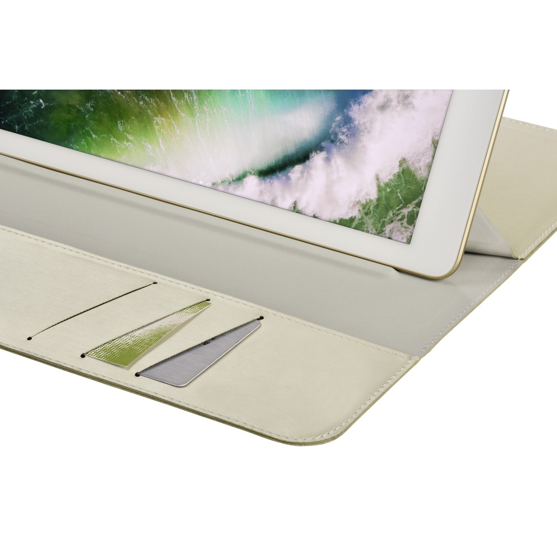 dex Druckfähiges Detail - Hama, Tablet-Case Super Slim für Apple iPad 9.7 (2017/2018), Créme