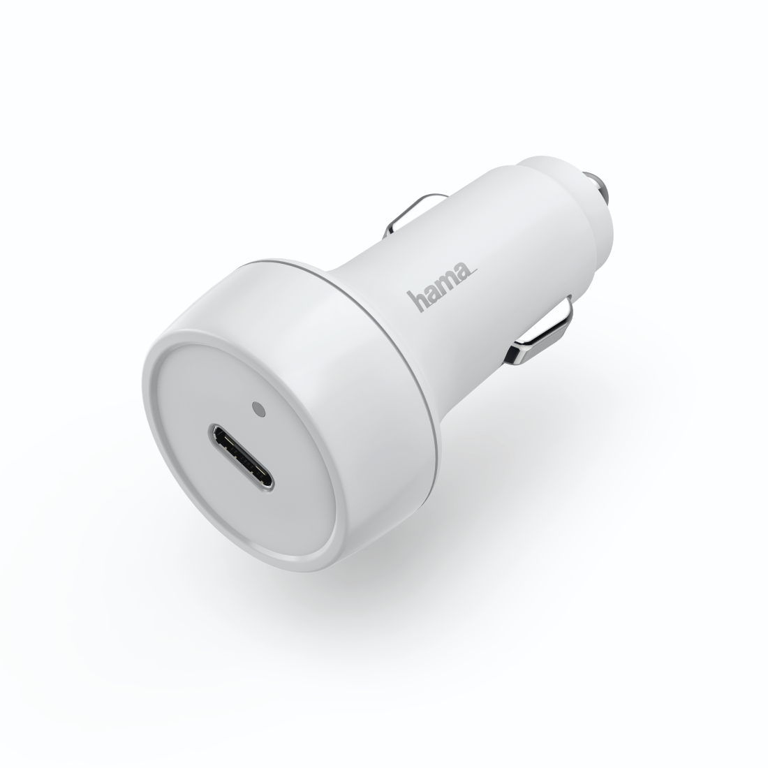 abx High-Res Image - Hama, Car Charger, Power Delivery (PD) / Qualcomm®, 18 W, white