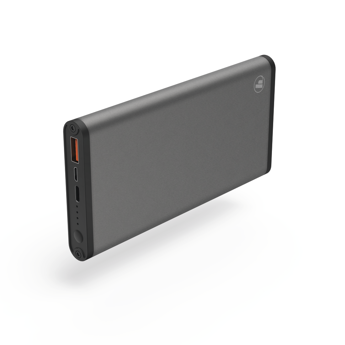 "abx High-Res Image - Hama, ""PD-12S"" Power Pack, 12000 mAh, anthracite"