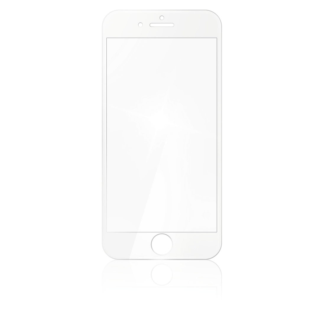 abx2 High-Res Image 2 - Hama, 3D Full Screen Protective Glass for Apple iPhone 6/7/8, white