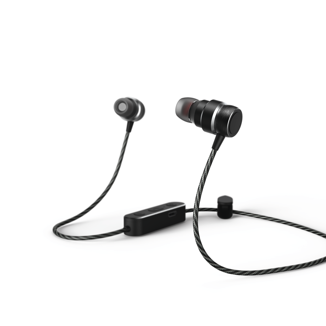 abx Druckfähige Abbildung - Hama, Bluetooth-In-Ear-Stereo-Headset Pure, Schwarz