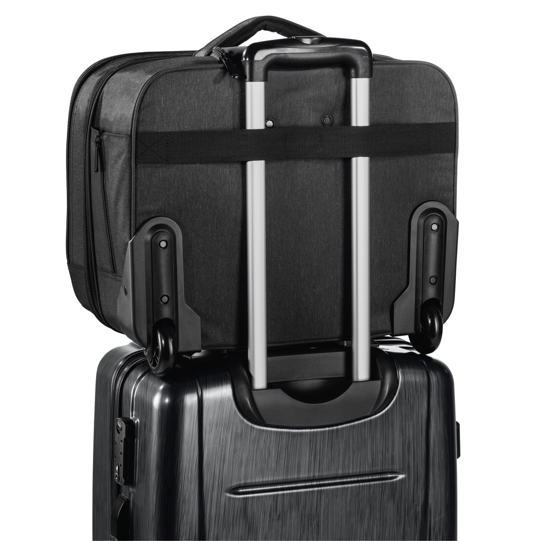 "dex2 High-Res Detail 2 - Hama, ""Manchester"" Notebook Trolley, up to 40 cm (15.6""), black"