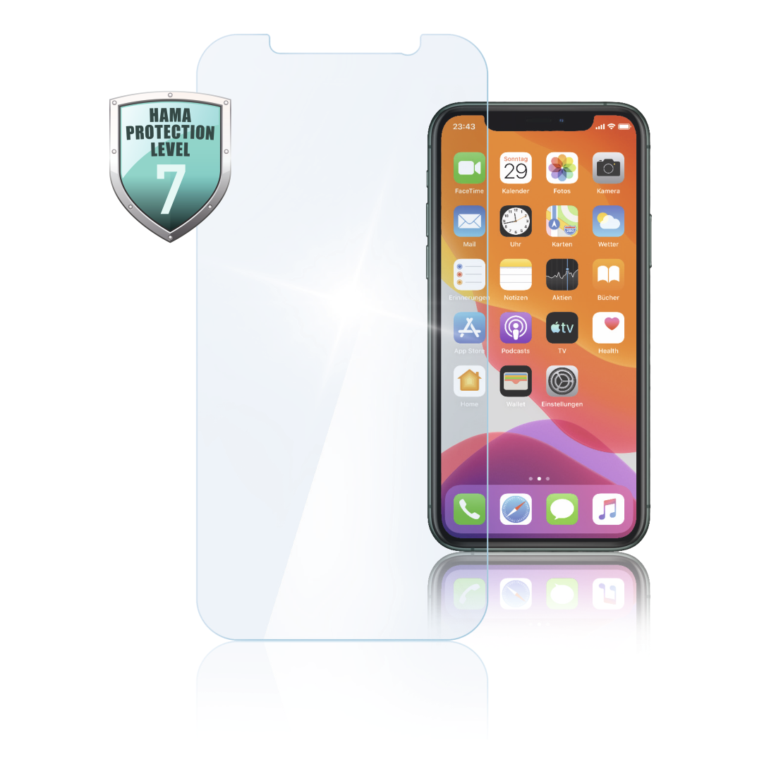 abx High-Res Image - Hama, Protective Glass for Apple iPhone XS Max/11 Pro Max