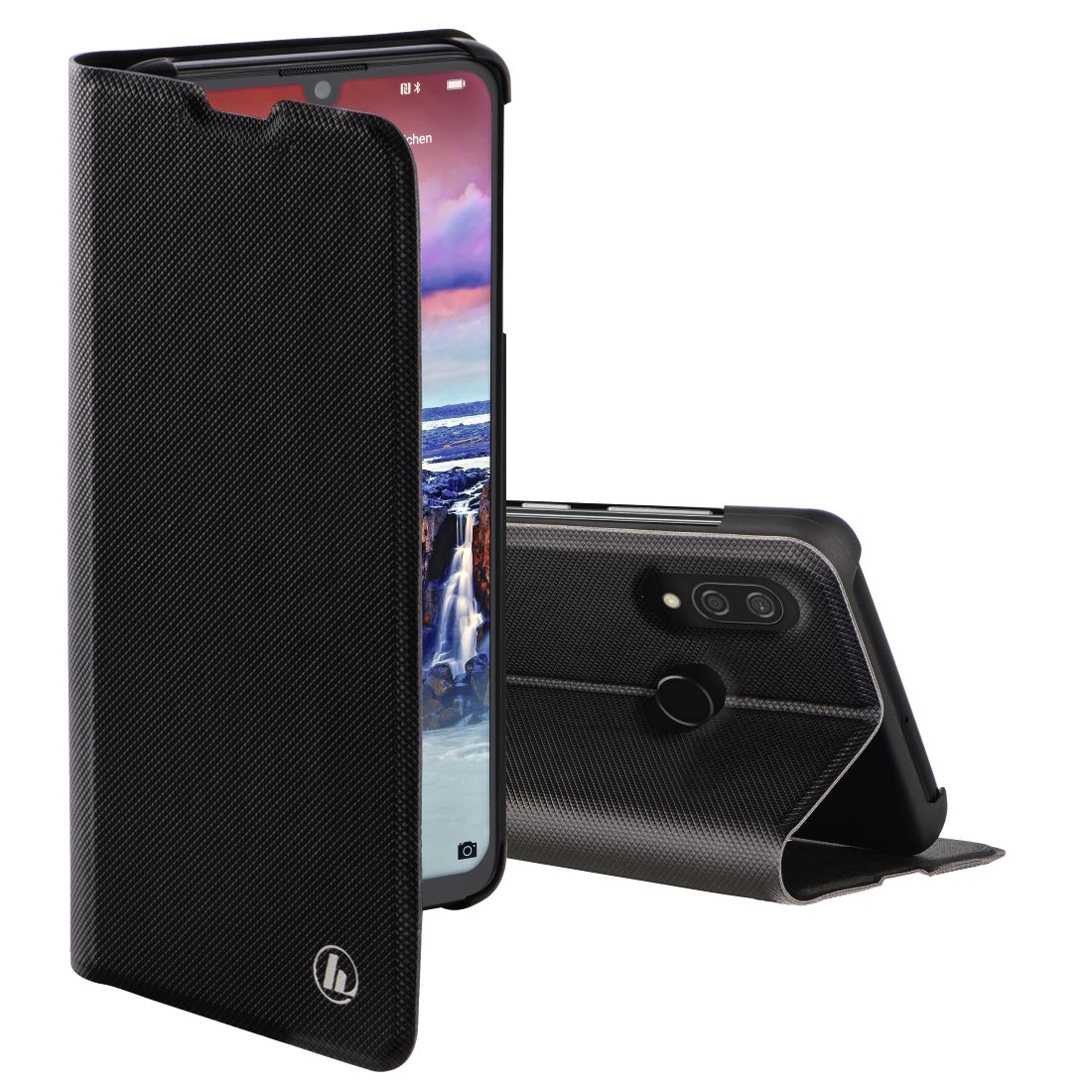 "abx High-Res Image - Hama, ""Slim Pro"" Booklet for Huawei Y7 (2019), black"