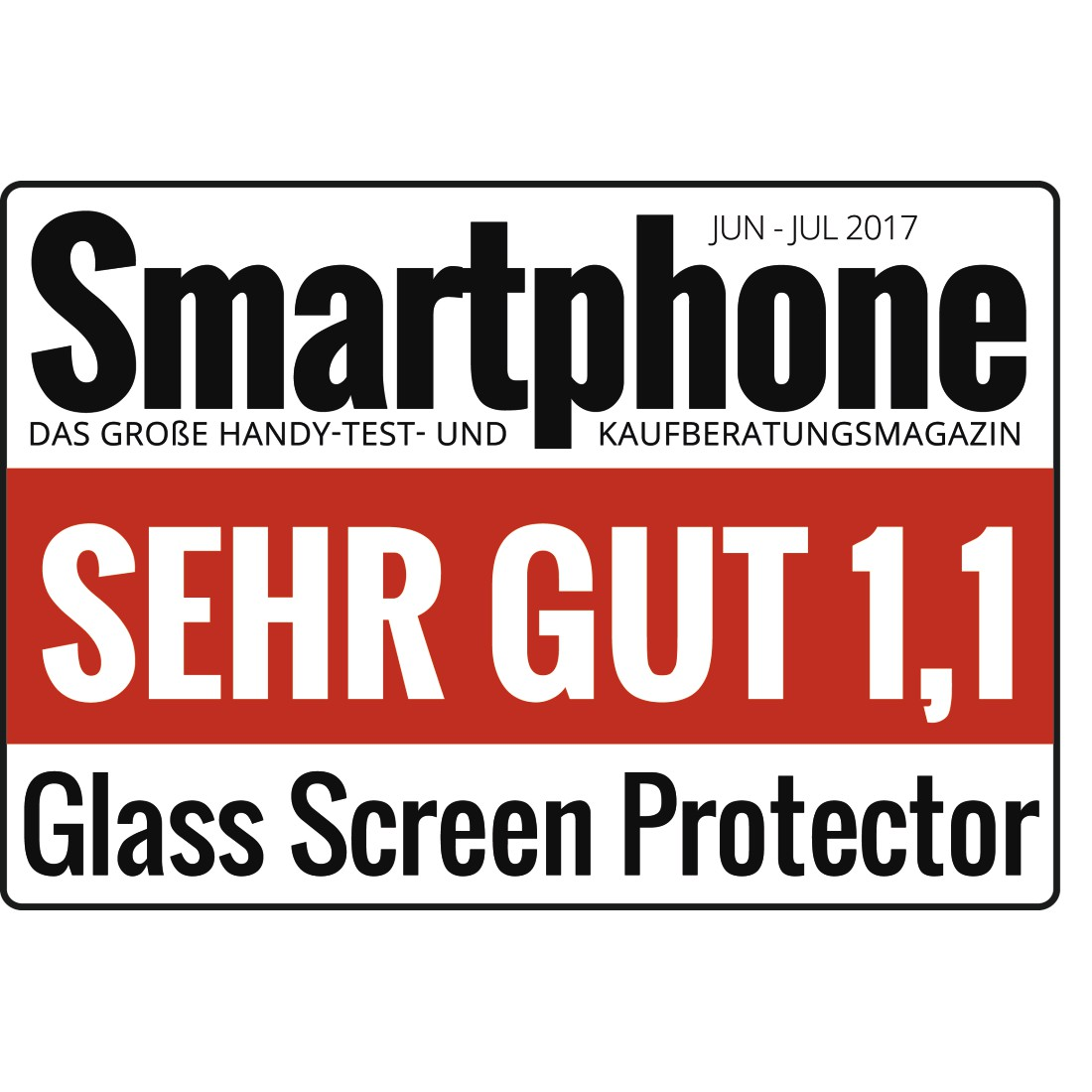 "tex Druckfähiges Testurteil - Hama, ""Premium Crystal Glass"" Real Glass Screen Protector for Huawei P30"