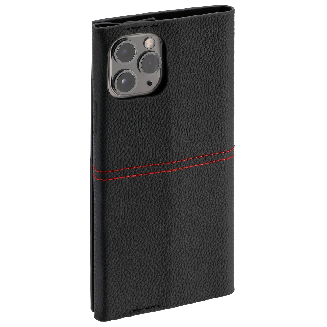 "abx4 High-Res Image4 - Hama, Booklet ""Red Sensation No. 6"" for Apple iPhone 11 Pro Max, black/red"