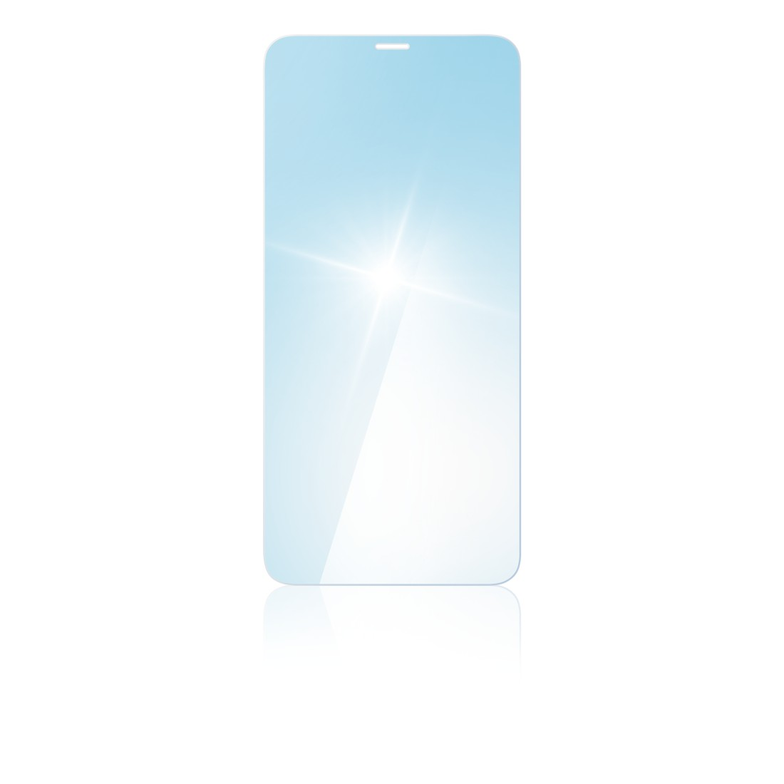 "abx2 High-Res Image 2 - Hama, ""Anti-Bluelight"" Real Glass Screen Protector for Apple iPhone X/XS/11 Pro"