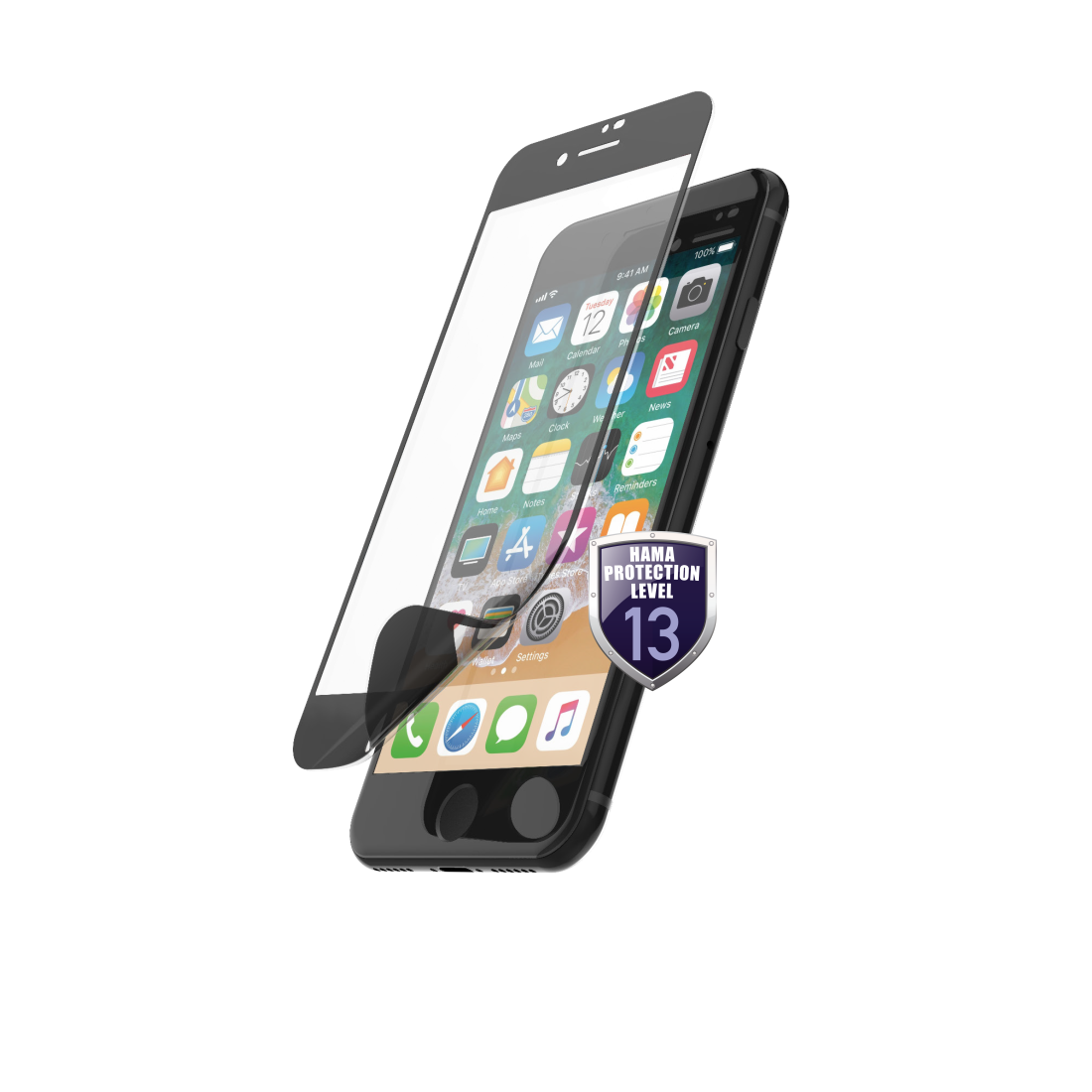 "abx High-Res Image - Hama, ""Hiflex"" Display Protection for Apple iPhone 6/6s/7/8/SE"