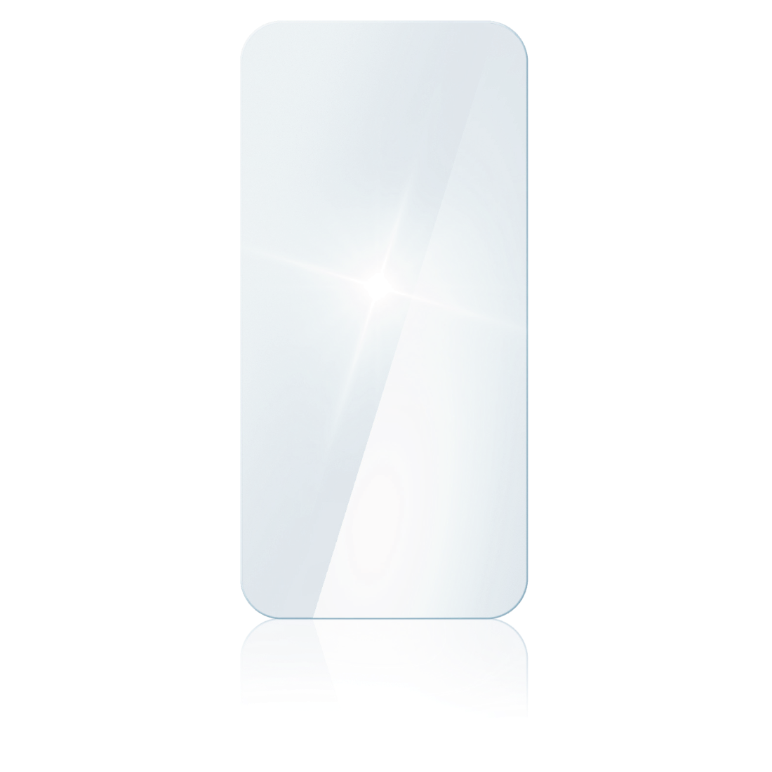 "abx2 High-Res Image 2 - Hama, ""Premium Crystal Glass"" Real Glass Screen Protector for Oppo Reno4 5G"