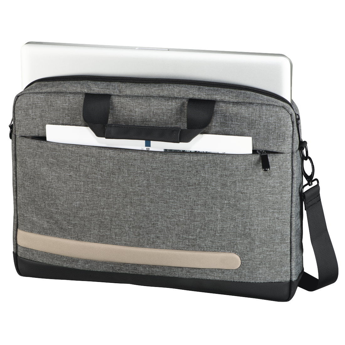 "abx2 High-Res Image 2 - Hama, ""Terra"" Notebook Bag, up to 40 cm (15.6""), grey"