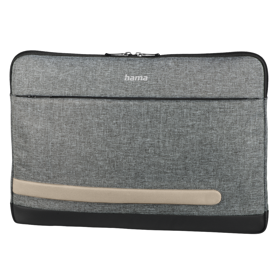 "abx High-Res Image - Hama, ""Terra"" Notebook Sleeve, up to 40 cm (15.6""), grey"