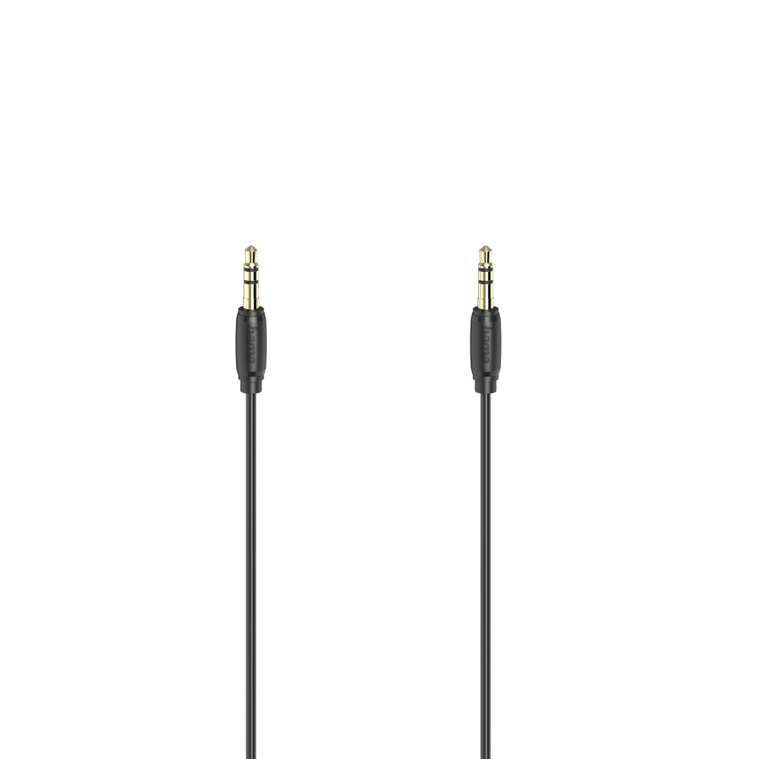 abx High-Res Image - Hama, Audio Cable, 3.5 mm Jack Plug - Plug, Stereo, Gold-Plated, Ultra-thin, 5.0 m