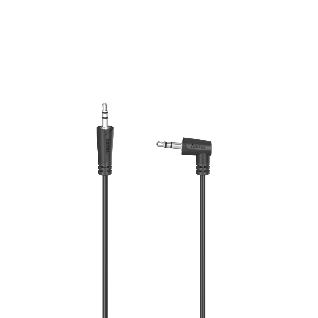 abx High-Res Image - Hama, Audio Cable, 3.5 mm Jack Plug 90° - 3.5 mm Jack Plug, Stereo, 1.5 m
