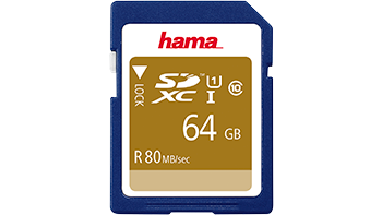 SDHC and SDXC memory cards