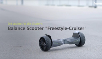 "Hama Balance Scooter ""Freestyle-Cruiser"", 8"""