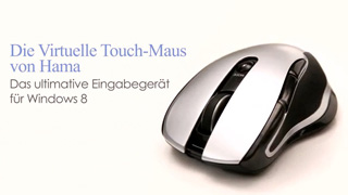 Hama Virtual-Touch-Maus für Windows 8