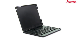 "Hama Bluetooth-Tastatur ""KEY2GO 360°"